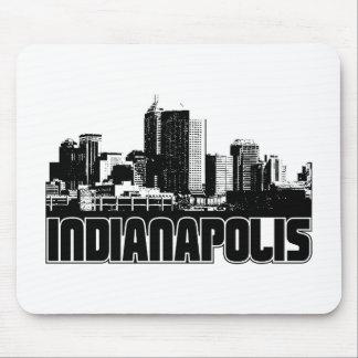Horizonte de Indianapolis Tapetes De Ratón