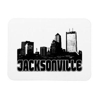 Horizonte de Jacksonville Imán Flexible