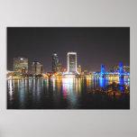 Horizonte de Jacksonville la Florida Impresiones