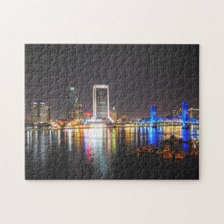 Horizonte de Jacksonville la Florida Puzzles Con Fotos