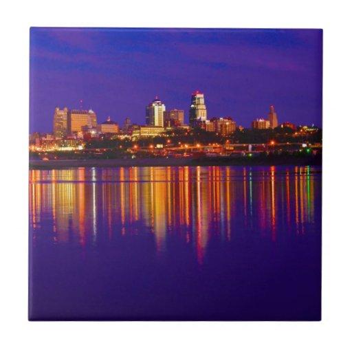 Horizonte de Kansas City Azulejos