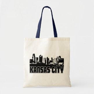Horizonte de Kansas City Bolsa Tela Barata