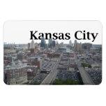 Horizonte de Kansas City con Kansas City en el cie Iman Rectangular