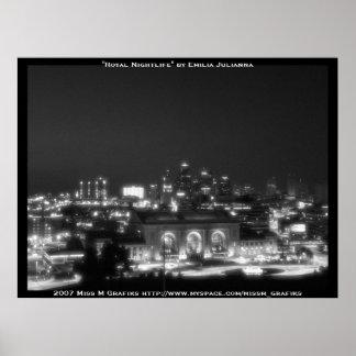 Horizonte de Kansas City Poster