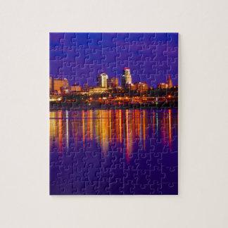 Horizonte de Kansas City Puzzle