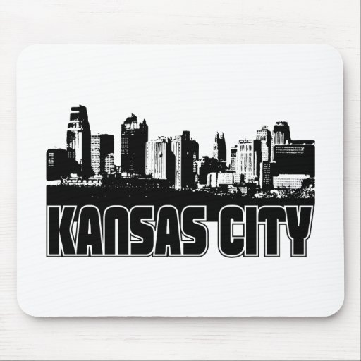 Horizonte de Kansas City Tapetes De Ratón