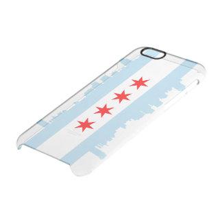 Horizonte de la bandera de Chicago Funda Clearly™ Deflector Para iPhone 6 De Uncommon
