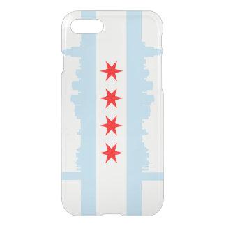 Horizonte de la bandera de Chicago Funda Para iPhone 7