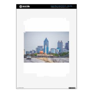horizonte de la ciudad de Atlanta en Georgia iPad 3 Pegatinas Skins