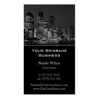 Horizonte de la ciudad de Brisbane - tarjeta de vi Tarjeta De Visita