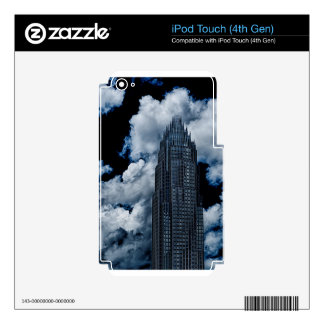 horizonte de la ciudad de Charlotte Calcomanías Para iPod Touch 4G