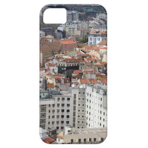 Horizonte de la ciudad de Lisboa iPhone 5 Protector