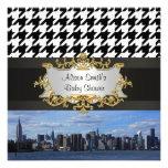 Horizonte de la ciudad de NY - la fiesta de bienve Comunicado Personalizado
