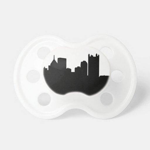 Horizonte de la ciudad de Pittsburgh Chupete
