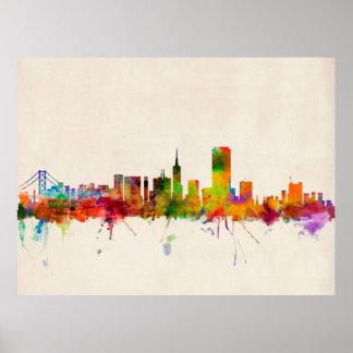 Horizonte de la ciudad de San Francisco Posters