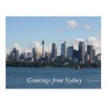 horizonte de la ciudad de Sydney Postal