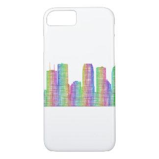 Horizonte de la ciudad de Tampa Funda iPhone 7