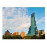 horizonte de la ciudad, una torre de la oficina de postal