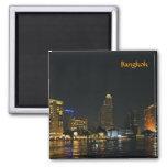 Horizonte de la noche Bangkok Imanes Para Frigoríficos