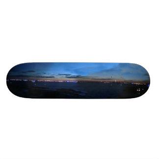 Horizonte de la noche skate boards