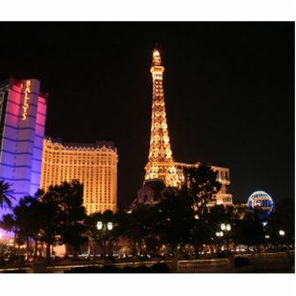 Horizonte de Las Vegas Fotoescultura Vertical