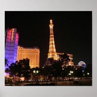 Horizonte de Las Vegas Posters
