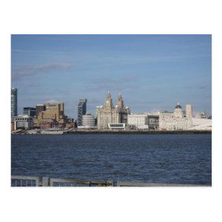 Horizonte de Liverpool Postales