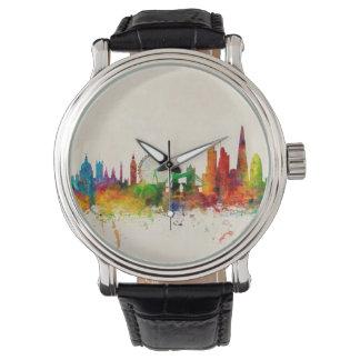 Horizonte de Londres Inglaterra Relojes