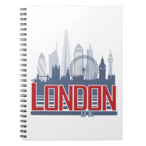 Horizonte de Londres Notebook