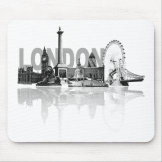 Horizonte de Londres Tapete De Ratones