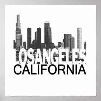 Horizonte de Los Ángeles Póster
