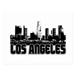 Horizonte de Los Ángeles Tarjeta Postal