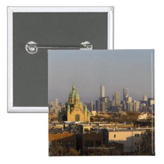 Horizonte de los E E U U Illinois Chicago Pins
