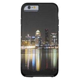 Horizonte de Louisville en la noche Funda Para iPhone 6 Tough