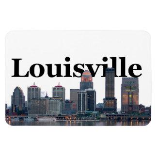 Horizonte de Louisville KY con Louisville en el ci Imanes