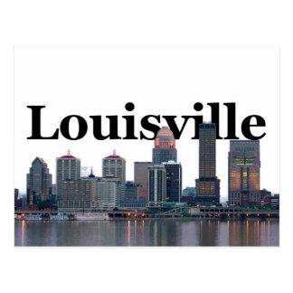 Horizonte de Louisville KY con Louisville en el Postales