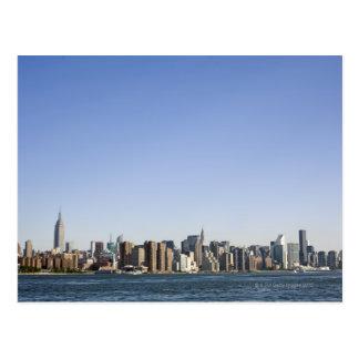 Horizonte de Manhattan, New York City, NY, los Postal