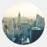 Horizonte de Manhattan, New York City Pegatinas