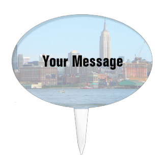 Horizonte de Manhattan según lo visto de Hoboken,  Figura Para Tarta