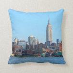 Horizonte de Manhattan según lo visto de Hoboken,  Almohada