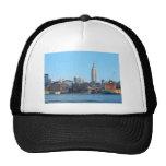 Horizonte de Manhattan según lo visto de Hoboken,  Gorras