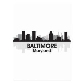 Horizonte de Maryland Baltimore Postales