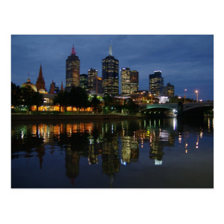 Horizonte de Melbourne Tarjetas Postales