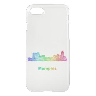 Horizonte de Memphis del arco iris Funda Para iPhone 7