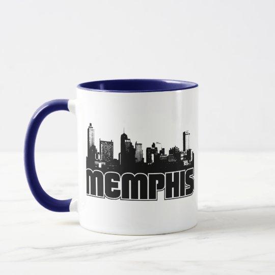 Horizonte de Memphis Taza