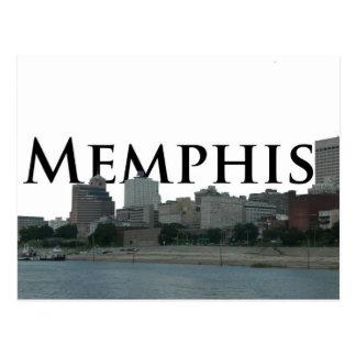 Horizonte de Memphis TN con Memphis el cielo Tarjeta Postal