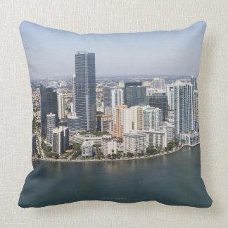 Horizonte de Miami Cojín