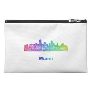 Horizonte de Miami del arco iris