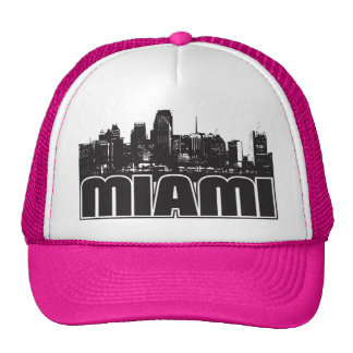 Horizonte de Miami Gorros Bordados