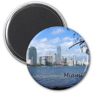 Horizonte de Miami Imán Redondo 5 Cm